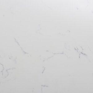 Placa de Cuarzo Blanco Carrara Brillante 2cm