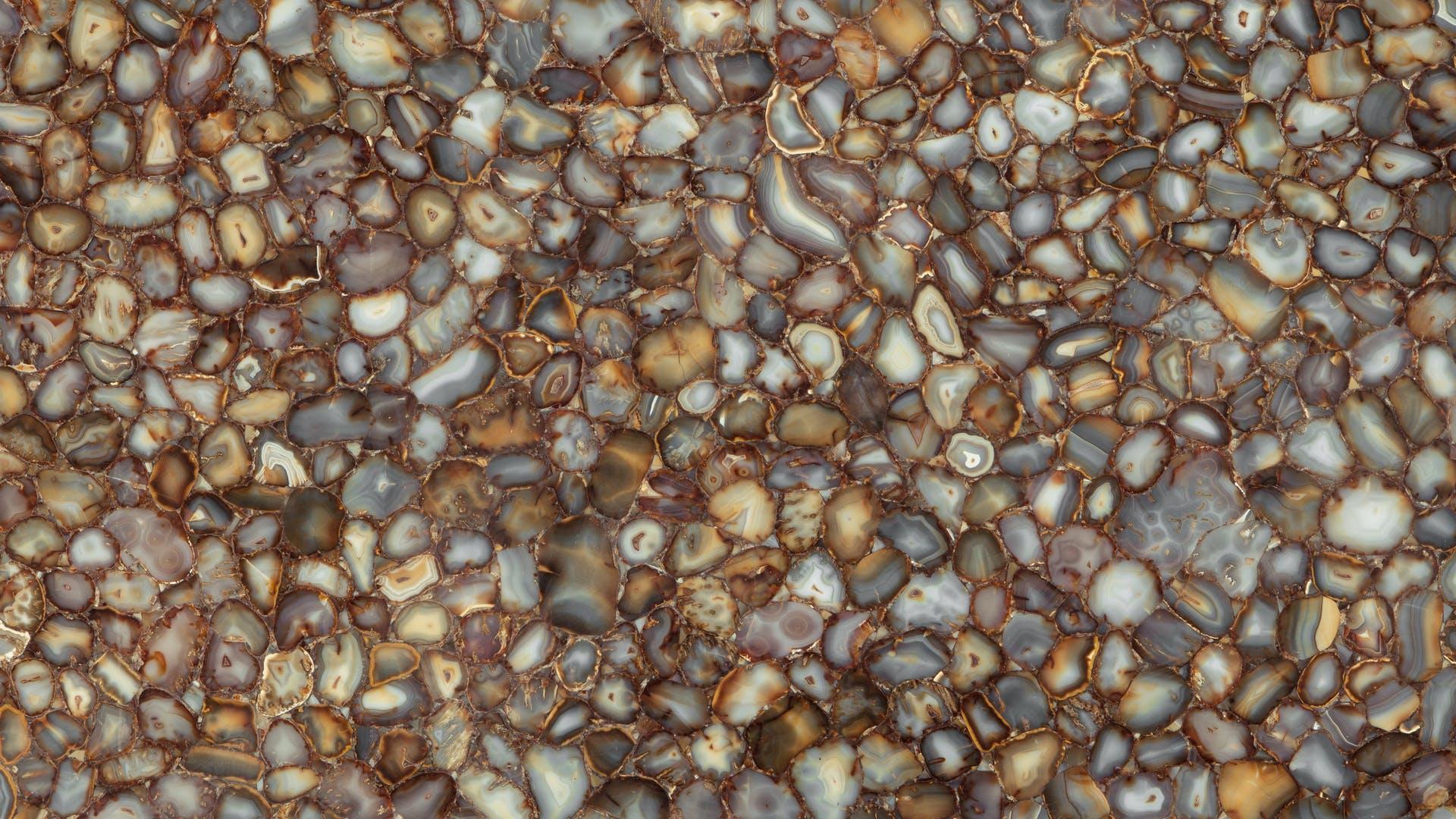 Placa de Piedras Semipreciosas Carnelian Pulido Prexury Collection